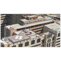 Grady Memorial Hospital Helipad image