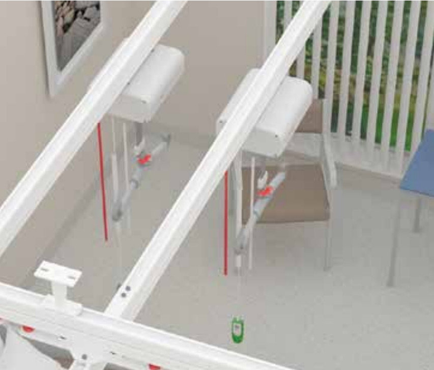 Liko Bariatric Overhead Lift (Traverse Rail Ceiling Mount)