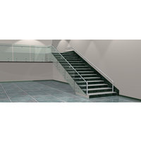 Newman by Hollaender™ Button Glass Railing image
