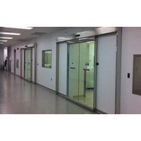 Horton Automatics division of Overhead Door Corporation image | ISO 5 Single and Biparting Cleanroom Systems