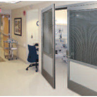 Horton Automatics division of Overhead Door Corporation image | Smoke-Rated Swinging ICU