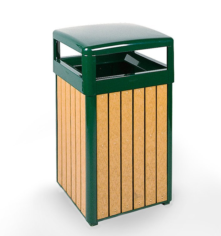 Large Capacity Litter Receptacle