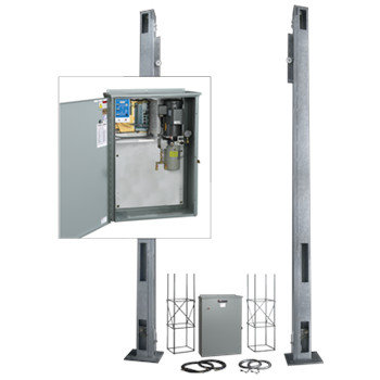 Industrial Vertical Lift Gate