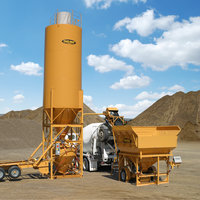 One Person Mobile Concrete Batch Plant image