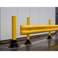 FlexRail Polycarbonate Guardrail End Cap image
