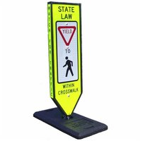 Omni-Ped Four-sided Pedestrian Messaging Center  image