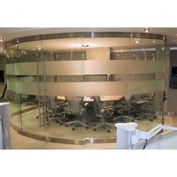 Curved Glass Sliding Doors image