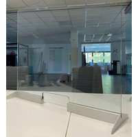 Glass Screen and Desk Divider for Protection in Retail, Hospitality and Office Environments image