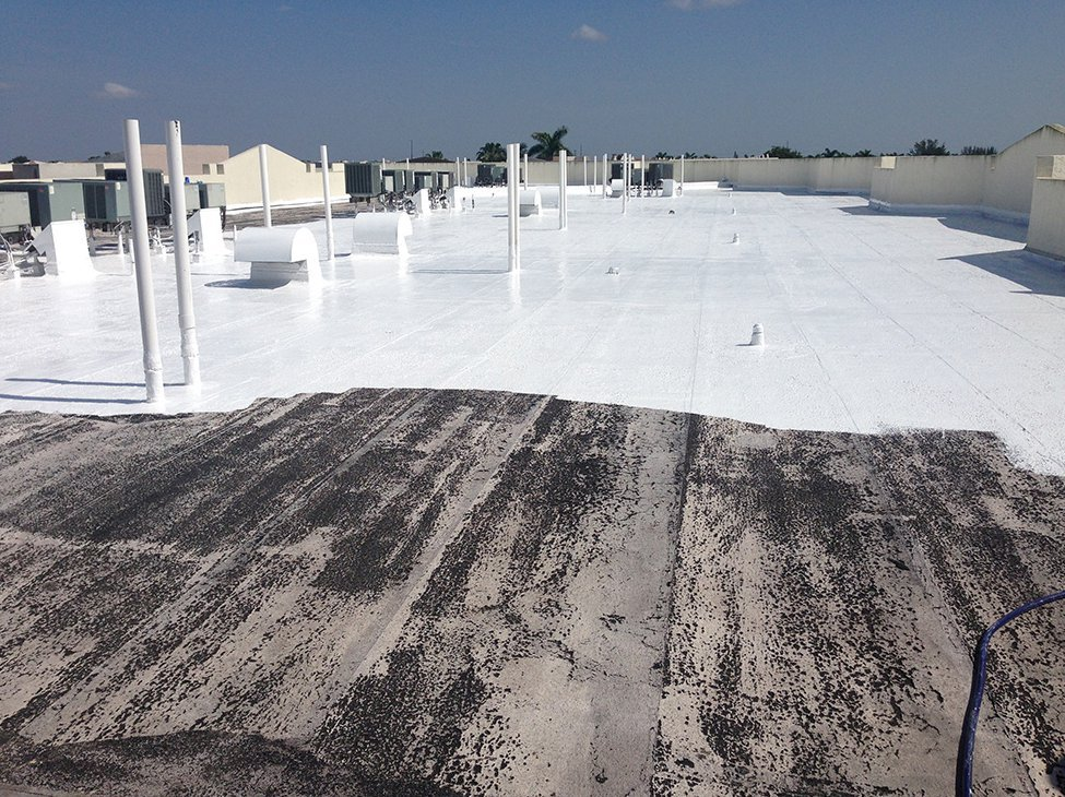 Acrylic White Cool Roof Top Coats