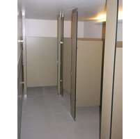 Ironwood Manufacturing, Co. - Toilet Partitions image | Solid Core Phenolic