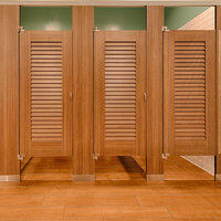 Ironwood Manufacturing, Co. - Toilet Partitions image | Compact Laminate (Phenolic) Louvers