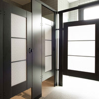 Ironwood Manufacturing, Co. - Toilet Partitions image | Plastic Laminate with Door Lites