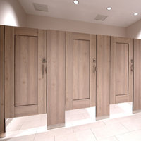 Ironwood Manufacturing, Co. - Toilet Partitions image | Compact Laminate (Phenolic) Captured Panel
