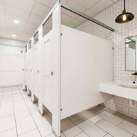 Ironwood Manufacturing, Co. - Toilet Partitions image | Plastic Laminate Captured Panel