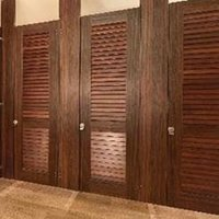 Ironwood Manufacturing, Co. - Toilet Partitions image | Plastic Laminate Privacy - Zero Sightline