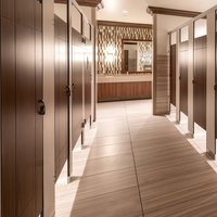 Ironwood Manufacturing, Co. - Toilet Partitions image | Engraving Partitions