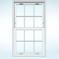 Premium Vinyl Double-Hung Window image