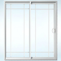 Builders Vinyl Sliding Patio Door  image
