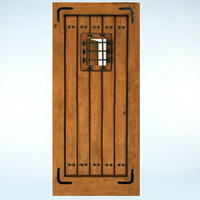 Aurora® Custom Fiberglass All Panel Exterior Door image