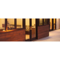 Contemporary Clad-Wood Patio Doors image