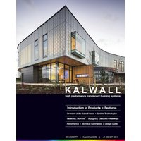 Kalwall Corporation image | KALWALL® UNVEILS NEW BROCHURE