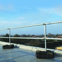 KeeGuard® Contractor Portable Roof Edge Fall Protection image