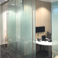 Self-Closing System for Glass Sliding Doors image