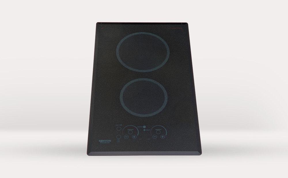 2 Burner Electric Cooktop ~ Kenyon international inc cooktops and grilles