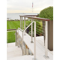 Cable Railing, Custom Ironwork & Stair Gallery image