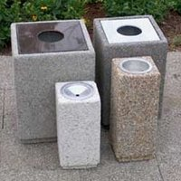 Trash & Ash Receptacles image