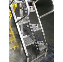 Alternating Tread Steel Stair image