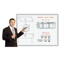 Grid-Printed Magnetic Whiteboard Kits image