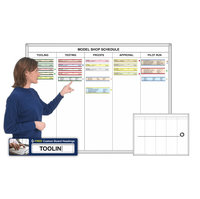 Column-Printed Magnetic Whiteboard Kits image