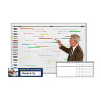 Magnetic Planning and Scheduling Whiteboard System Kits image