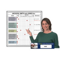 Magnetic In-Out Whiteboard System Kits image