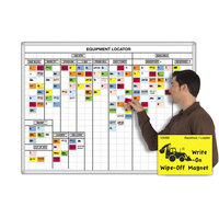 Equipment Tracking Magnetic Whiteboard Kits image