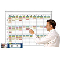 Shift and Work Schedules Magnetic Whiteboard System Kits image