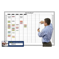 Hour & Minute Magnetic Whiteboard Schedules image