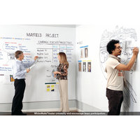 WhiteWalls® Magnetic Dry-Erase Whiteboard Wall Paneling image