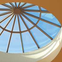 Custom Glass and Polycarbonate Multi-Wall Skylights image