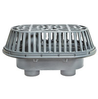 Extra Large Area Dual Overflow Cast Iron Roof Drain image