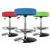 Cushioned Swivel Stool image
