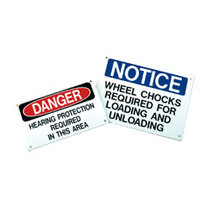 MS-215 Operations and Safety Signs image