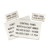 Laser Etched Stainless Steel Equipment Tags image