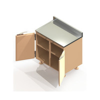 Preparation Enclosure Base Cabinet image