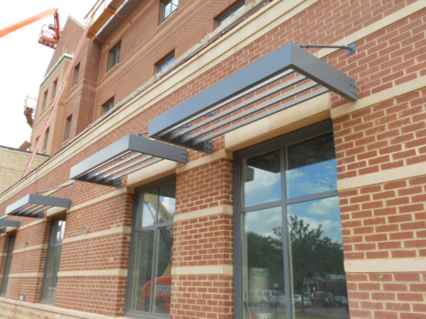 Architectural Aluminum Sunshades : Masa architectural canopies awnings and