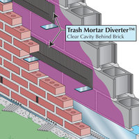 Trash Mortar Diverter™ image