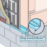 Weep Screed Deflector™ image