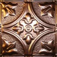 "Hand Faux 12"" Tiles - Authentic Copper image"