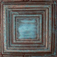 "Solid Copper/12"" x 12"" Rustic Faux Finish  image"
